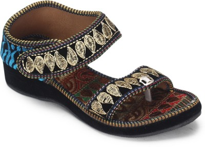 Paduki Women Multicolor Wedges