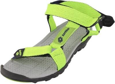 Lotto Men Green, Grey Sandals