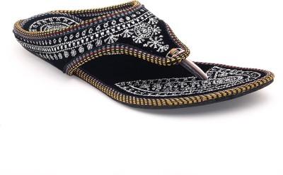 Paduki Women Silver Flats