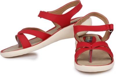 Sapatos Women Red Flats