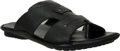 LeCobbs Men Black Sandals