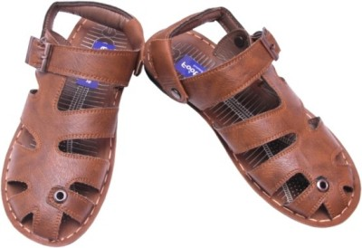 Footlooks Men Beige Sandals