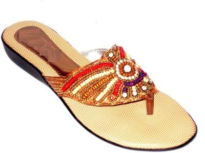 Angeela Women Brown Flats