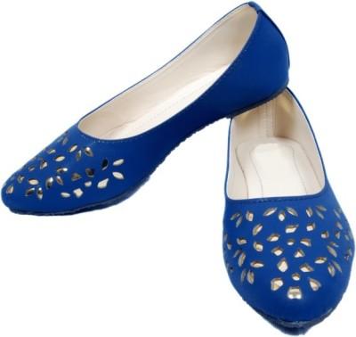 Midaspinkcity Women Blue Sandals
