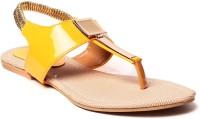 Select Steps Women Yellow Flats