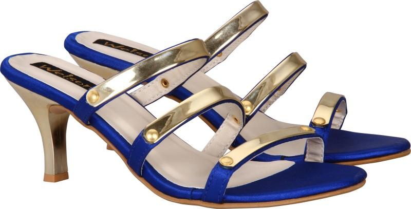 Welson Women, Girls Blue Heels