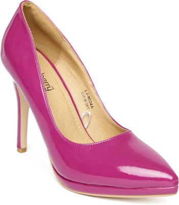 Dressberry Women Pink Heels at flipkart