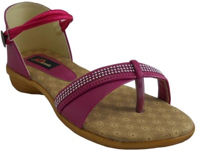 B3trendz Women Pink, Tan Flats