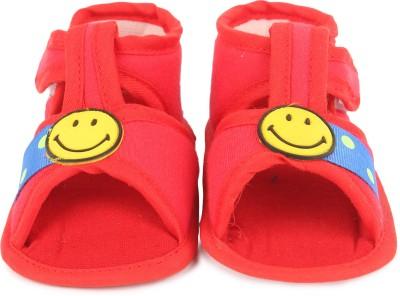 Instabuyz Baby Girls, Baby Boys Red Sandals