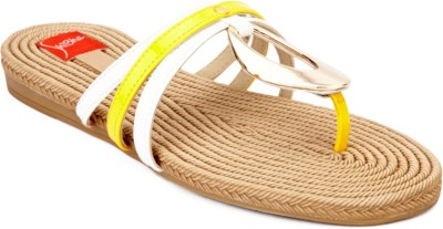 Shibha Footwear Women Yellow Flats