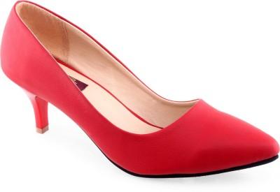 Shuz Touch Women Red Heels