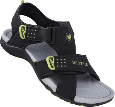 Vestire Men Black, Grey Sandals