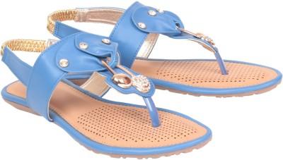 Jenis Women Blue Flats