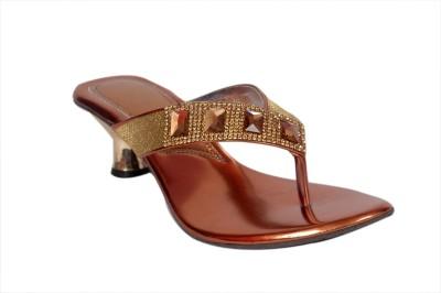 Studio 9 Side Mash V Women Brown Heels