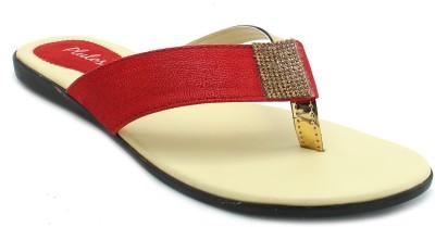Plutos Women Red Flats