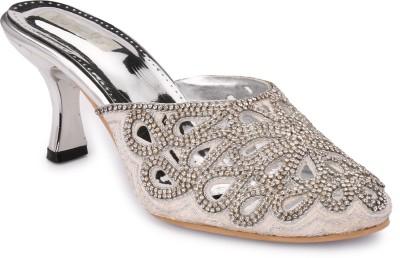 Koyka Women Silver Heels