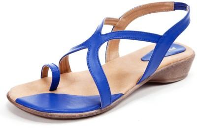 Beyond Women Blue Flats