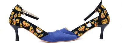 Wearmates Halloween Women Blue Heels