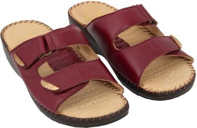 dr scholl Men Maroon Sandals