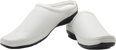Footrest Men White Sandals