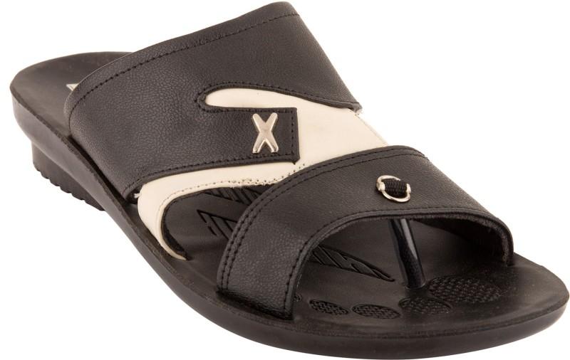 Roayals Men Black::White Sandals