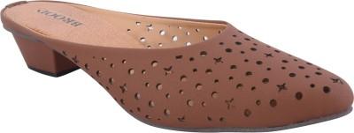 Brood Women Tan Heels