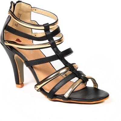Lyc Women Black Heels