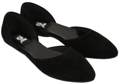 Gossip Women Black Flats