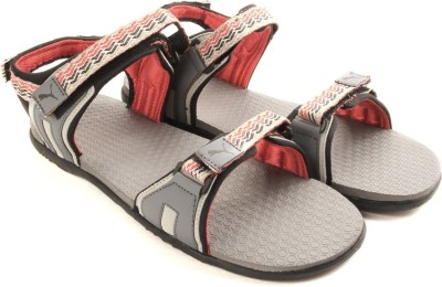 Puma Women steel gray-gray violet-high risk red Sports Sandals