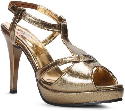 Meriggiare Women Gold Heels