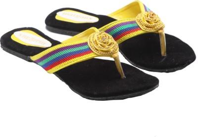 Margaux Women Yellow Flats
