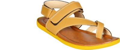 Mr. Polo Men Yellow Sandals