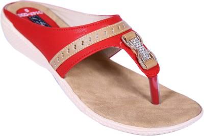 Smalto Women Red Flats