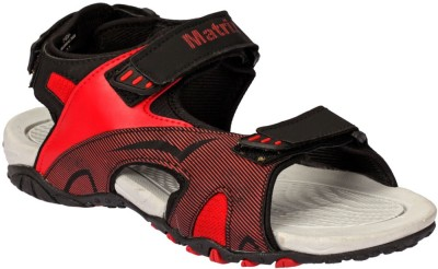 Matrix Men Black, Red Sandals