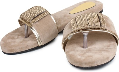 ZAAK Women Tan Flats