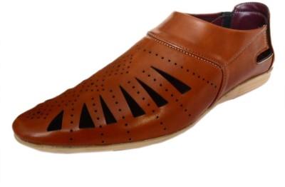 Footgear Men Tan Sandals