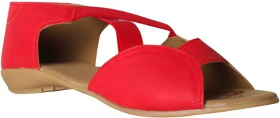 Bata Women Red Flats