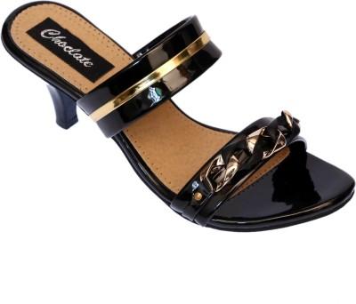 Choclate Women Multicolor Heels