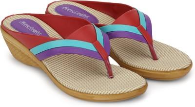 Marie Comfort Women Purple Heels