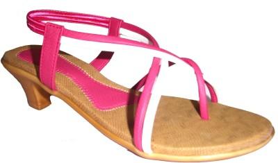 Om Overseas Women Pink Heels
