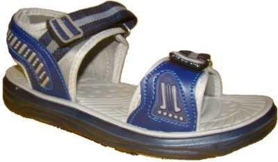 Nitin Footwear Men Blue, Grey Sandals
