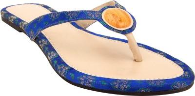 Royal Collection Women Blue, Beige Flats