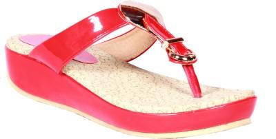 Funku Fashion Women Red, Red Flats