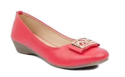 Credos Women Red Wedges