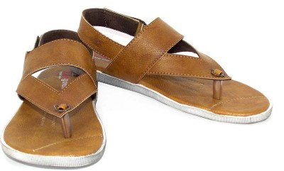 Lee Gorav Boys Camel Sandals