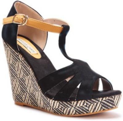 SOULIER CARTE Women Black Heels