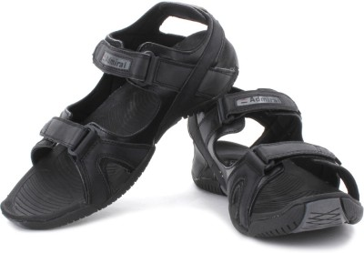 Admirai Men Blk, Gry, Red Sandals at flipkart