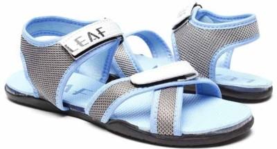 Blue-Tuff 16 Leaf Girls Blue Sports Sandals