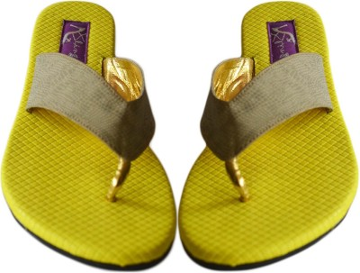 BLING FOOTWEAR Women Yellow Flats