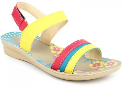 Footfun By Liberty Girls Pink Sandals